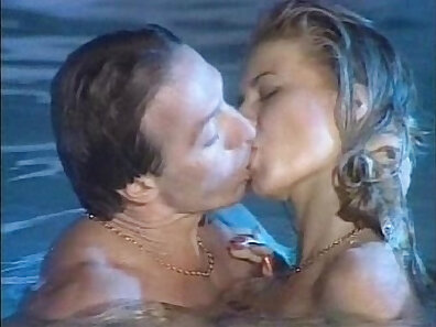 pool scenes, vintage in high-quality xxx movie
