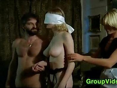blindfolded sex, blondies, sexual pleasure, vintage in high-quality, wild orgies xxx movie