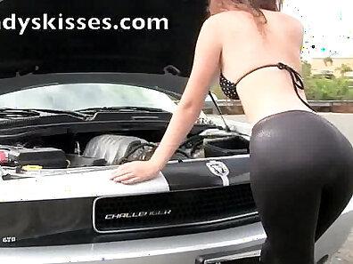 automobile, leather xxx, sexy chicks, spandex porn xxx movie