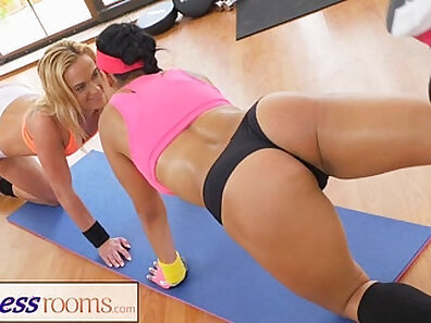 fit models, fitness club, fucking in HD, hot babes, sensual lesbians, sex during workout xxx movie