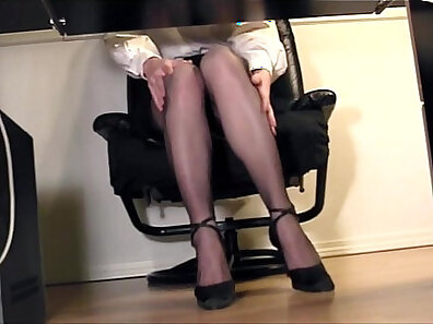 boss and secretary, finger fucking, girls in nylons, office porno xxx movie
