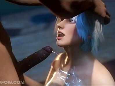 animated porn, deepthroat blowjob xxx movie