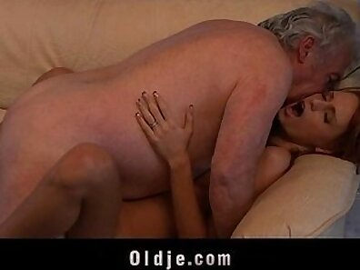 handsome grandfather, having sex, hot babes, old with young, redhead babes, sexy babes, young babes xxx movie
