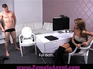 fake agent, female porn, having sex xxx movie