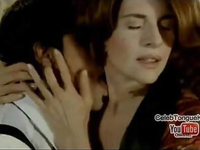 celebrity sextape, french kissing, tongue xxx xxx movie